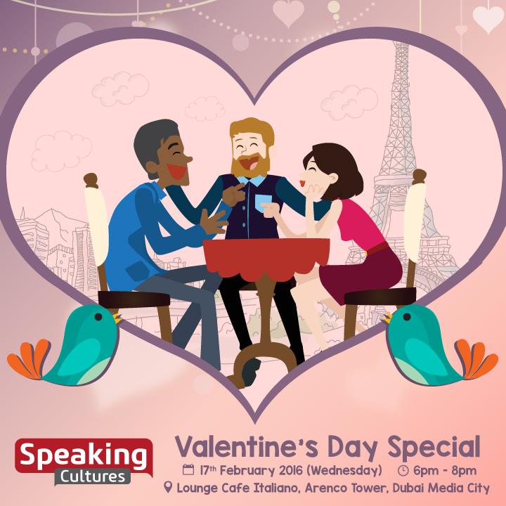 Speaking Cultures Valentine's Day Special