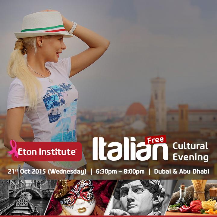 Italian Cultural Evening