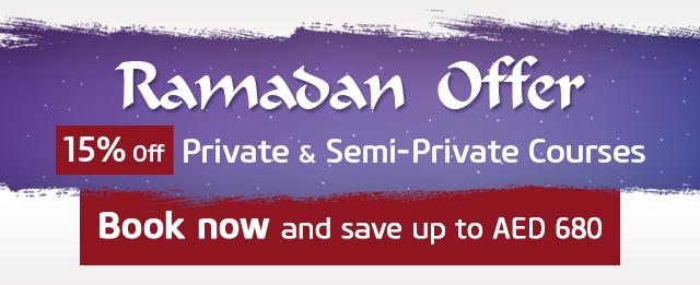 Enjoy15% offPrivate & Semi-Private Courses