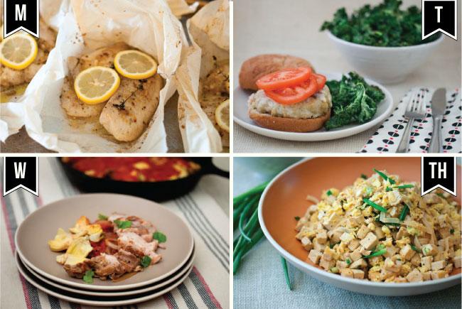 11/12 Weekly Eats Meals