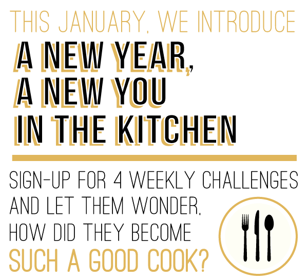 New Year, New You in the Kitchen