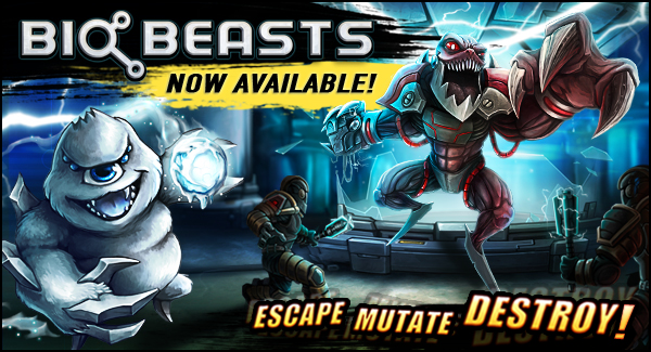 BioBeasts is our newest mobile game for iOS and Android