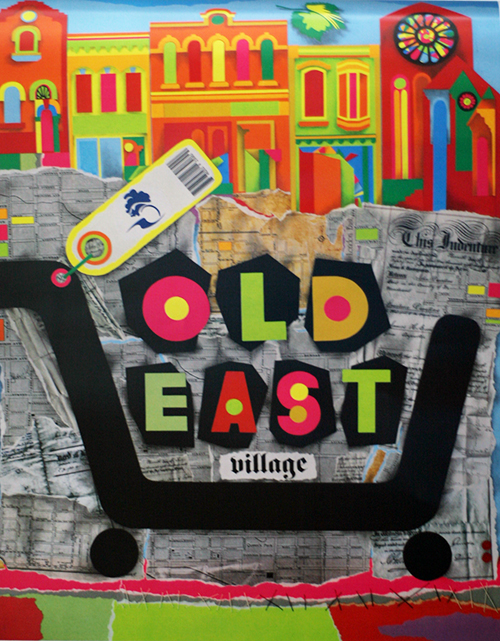 Old East Village Poster