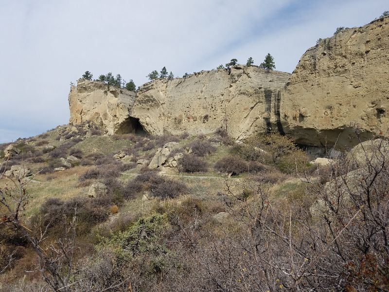 Pictograph Cave State Park with Montana Adventure Shuttle