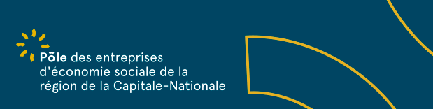Logo du Pôle des entreprises d'économie sociale de la région de la Capitale-Nationale
