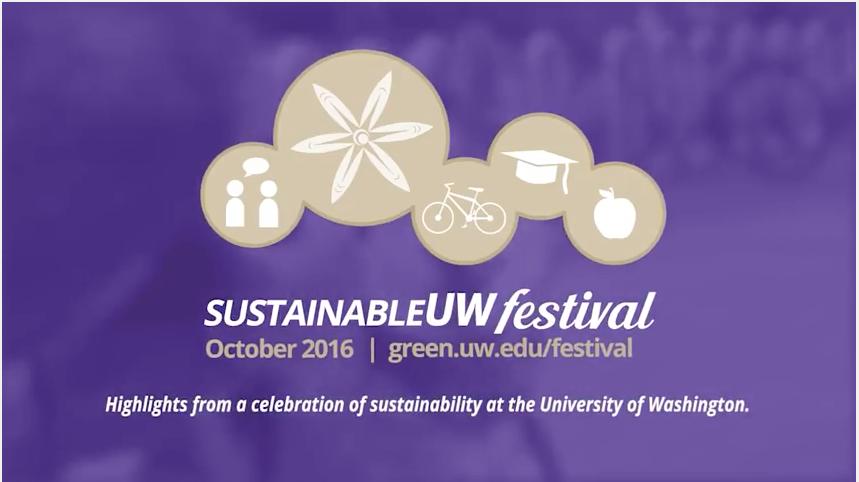 SustainableUW Festival video