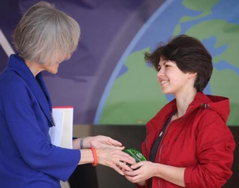 Husky Green Award ceremony