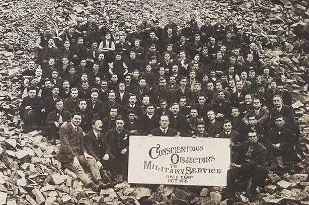 Conscientious Objectors to Military Service: Dyce Quarry Work Camp 1916