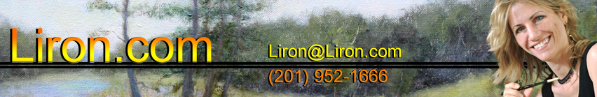 www.Liron.com - Oil paintings depicting nature as visual metaphors