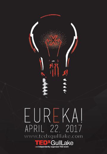"""Image for TEDx Gull Lake on """"Eureka!"""" theme"""