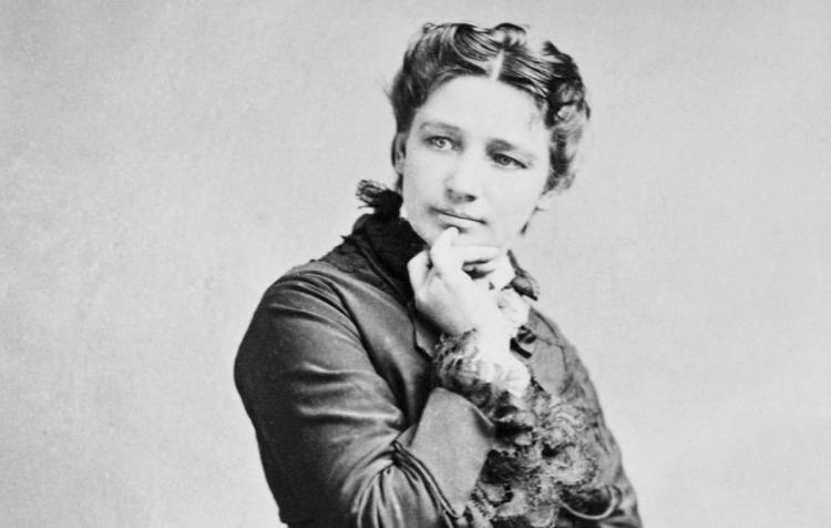 Photo: 19th century convention defier Victoria Woodhull