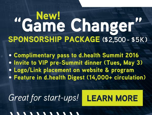 NEW 'Game Changer' Sponsorship Package