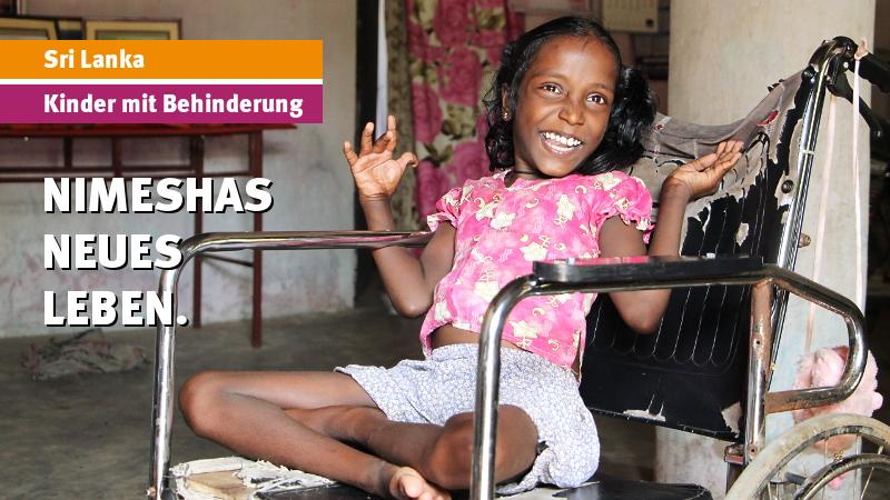 Sri Lanka: Nimeshas neues Leben.