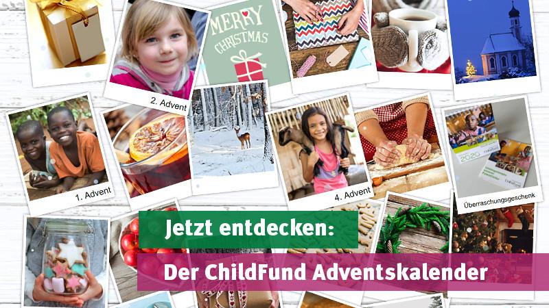 Jetzt entdecken: Der ChildFund Adventskalender