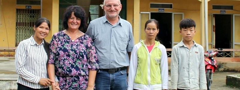 Patenbesuch in Vietnam