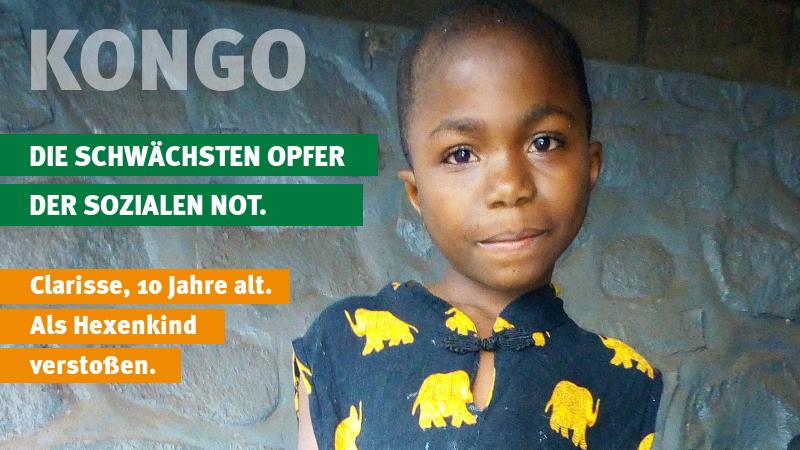 """Kongo: Hoffnung für """"Hexenkinder"""""""