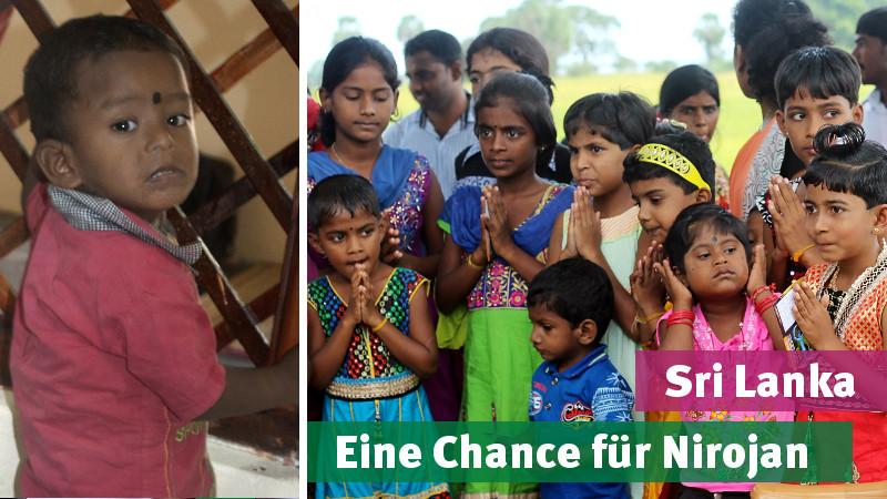 Sri Lanka: Hilfe für Kinder mit Behinderung