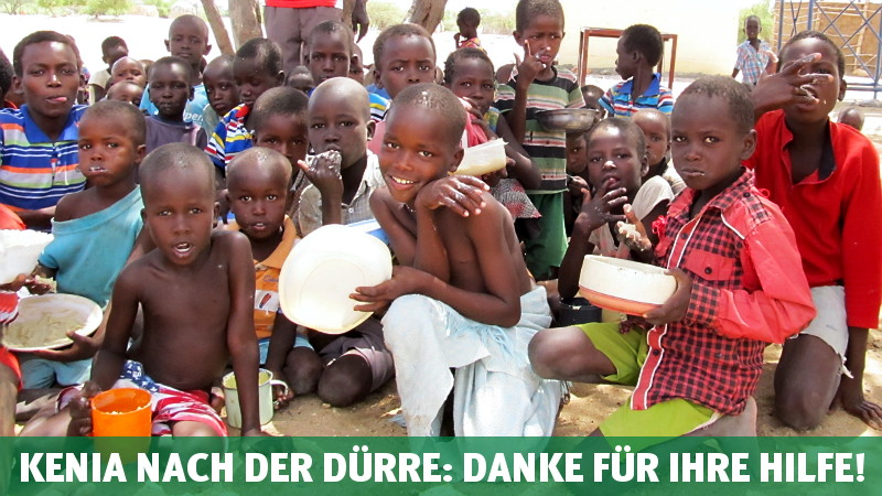 Kenia nach der Dürre: Danke für Ihre Hilfe!
