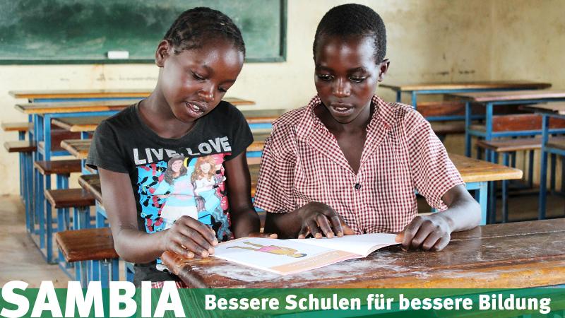 Sambia: Einsatz für die Chance auf Bildung.