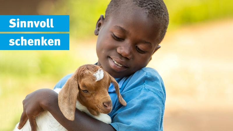 Sinnvoll schenken: Der ChildFund Spendenshop