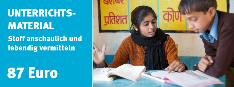 ChildFund Spendenshop: Unterrichtsmaterial