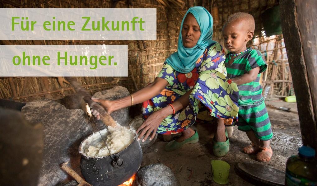 Für eine Zukunft ohne Hunger.