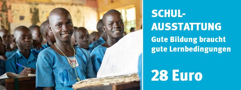 ChildFund Spendenshop: Schulausstattung