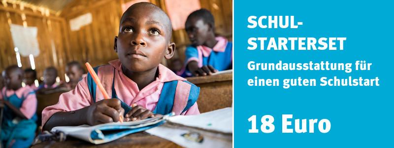 ChildFund Spendenshop: Schulstarterset