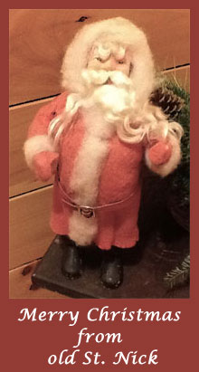 Antique Santa