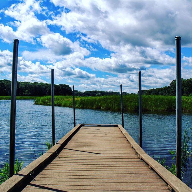 minnehaha creek dock
