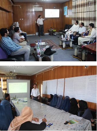 Capacity building of HiH Af staff