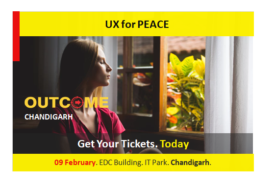 UX Design for Peace. A Conference in Chandigarh, by Vinish Garg