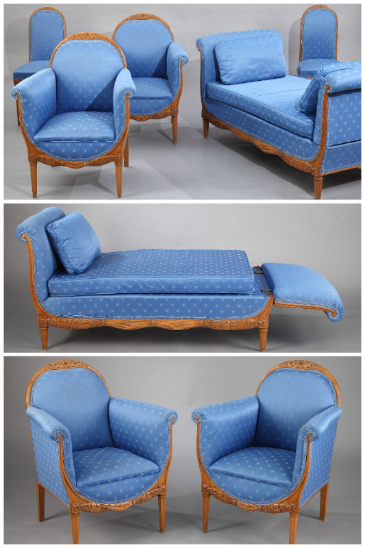 Mobilier de salon de Paul Follot (1877-1941), époque Art Déco