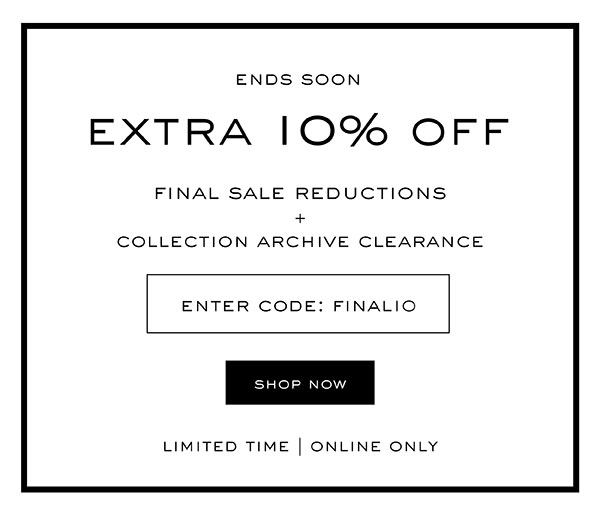 Sale Ends Soon - Extra 10% off with code: FINAL10