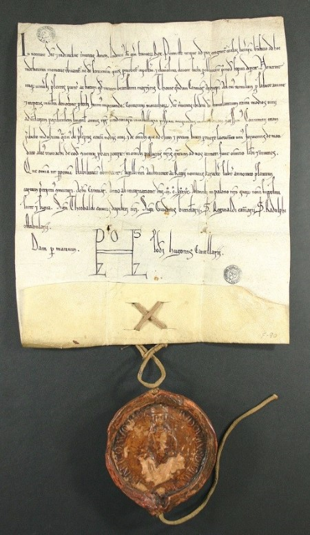 Charter of Louis VII.