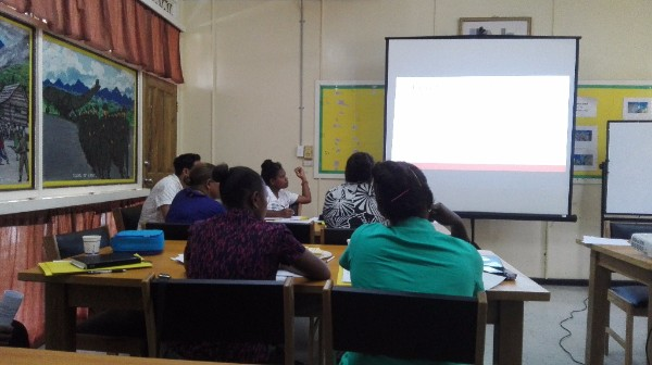 Participants of SIG 'Organising a Records Management Unit' training