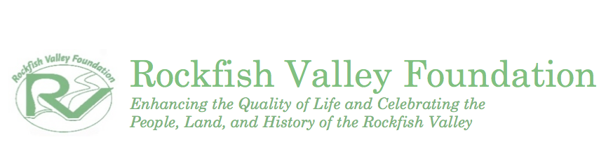 Rockfish Valley Foundation Header