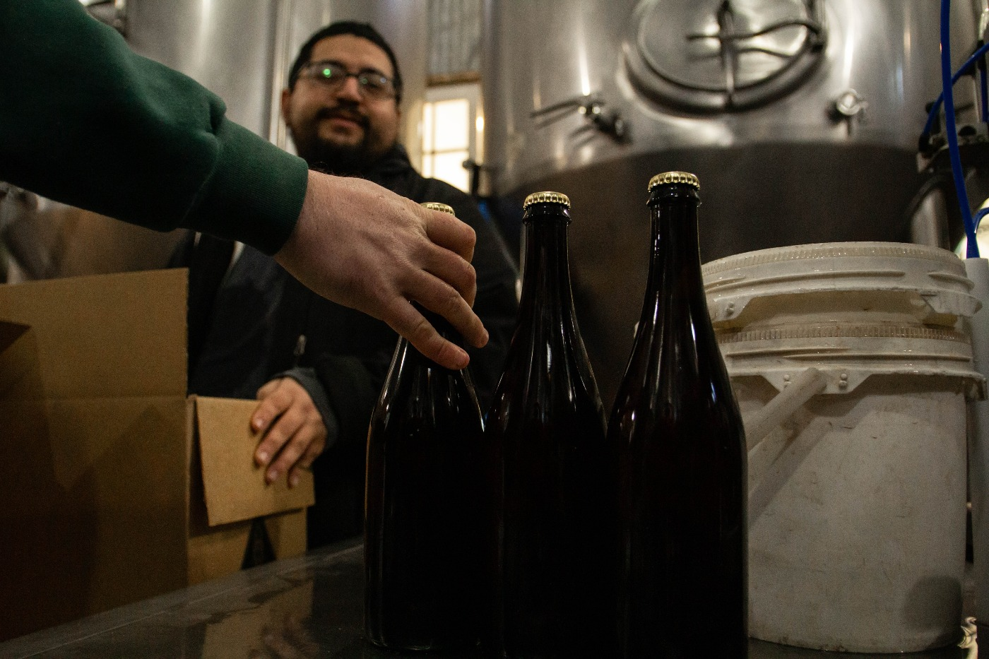 , Jester King Gives Love To It's Hand Bottling Team