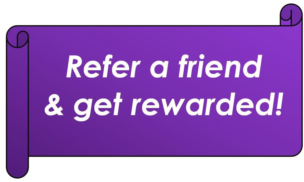 Referral Program, Give 20, Get 20