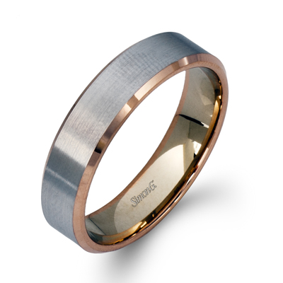 Subdue Matte Finish wedding band