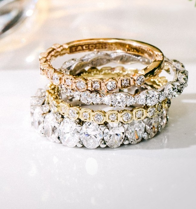 Tacori Stacked Rings