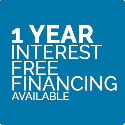 1 Year Interest Free Financing