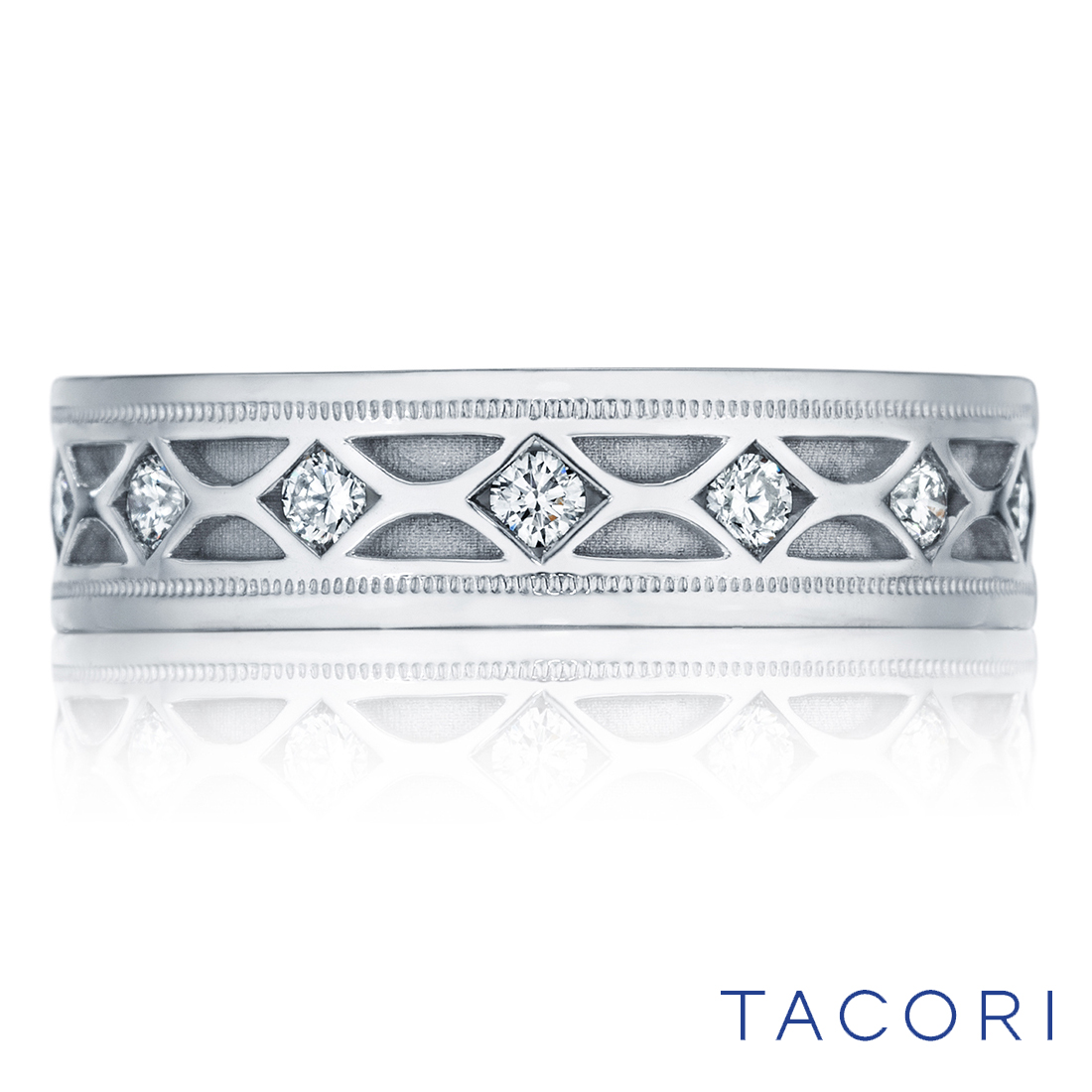 Tacori men's diamond band style 126-6d