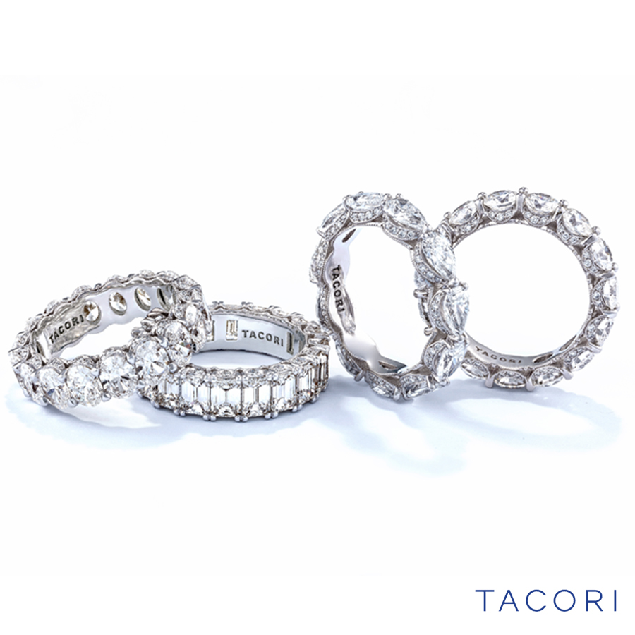 Tacori Diamond Eternity wedding bands