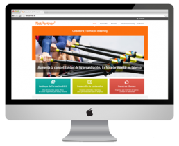 NetPartner: pàgina web