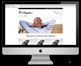 Tu Respaldo - Disseny i adaptació web botiga online