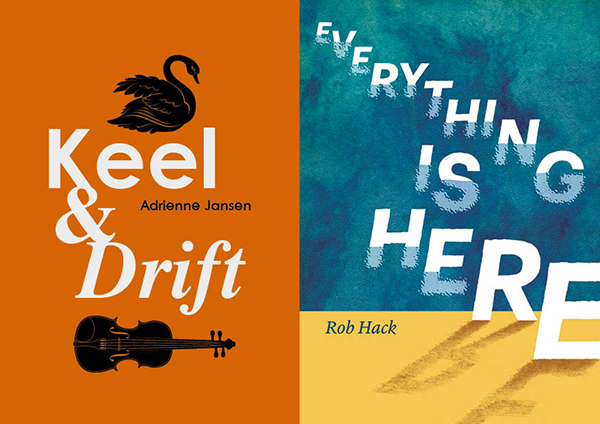 Cover images for Keel & Drift and Everything is Here
