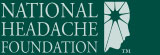 National Headache Foundation Footer logo