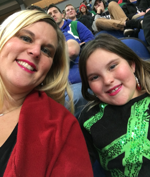 Sabrina and her daughter Kirsten