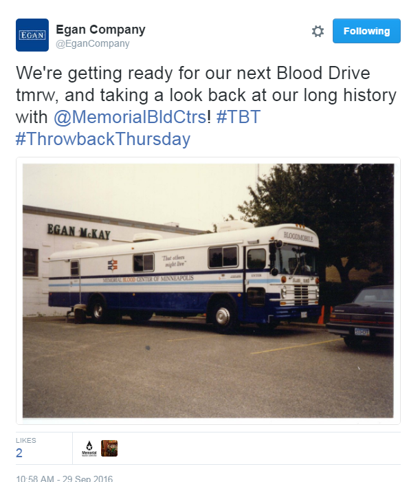 One of MBC's oldest bloodmobiles